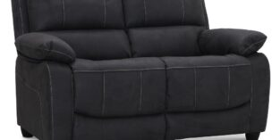 Boston recliner 2 pers. sofa - gråt stof