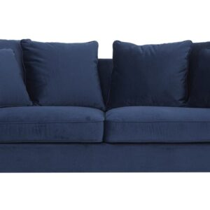 Chenell 2 pers. sofa - Blå velour