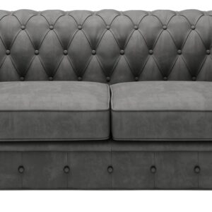 Chesterfield Manchester 2 pers sofa grå