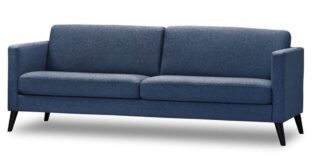 Ask 3 Personers sofa Navy Blå
